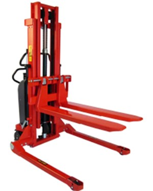 Transporting, lifting, stacking and handling goods from all pallet types - also closed ones