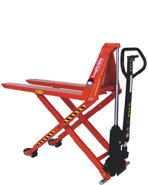 Manual transporting and manual lifting to the right working height