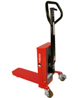 Easy and smooth handling and lifting of quarter pallets; Capacity 300 kg