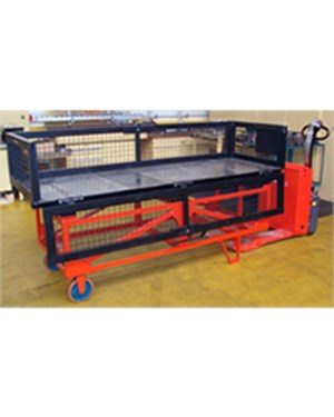 Samples custom-built products, Tow bar for pulling trolleys